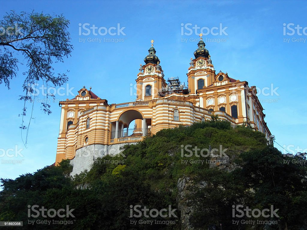 Melk Abbey - Austria royalty-free stock photo