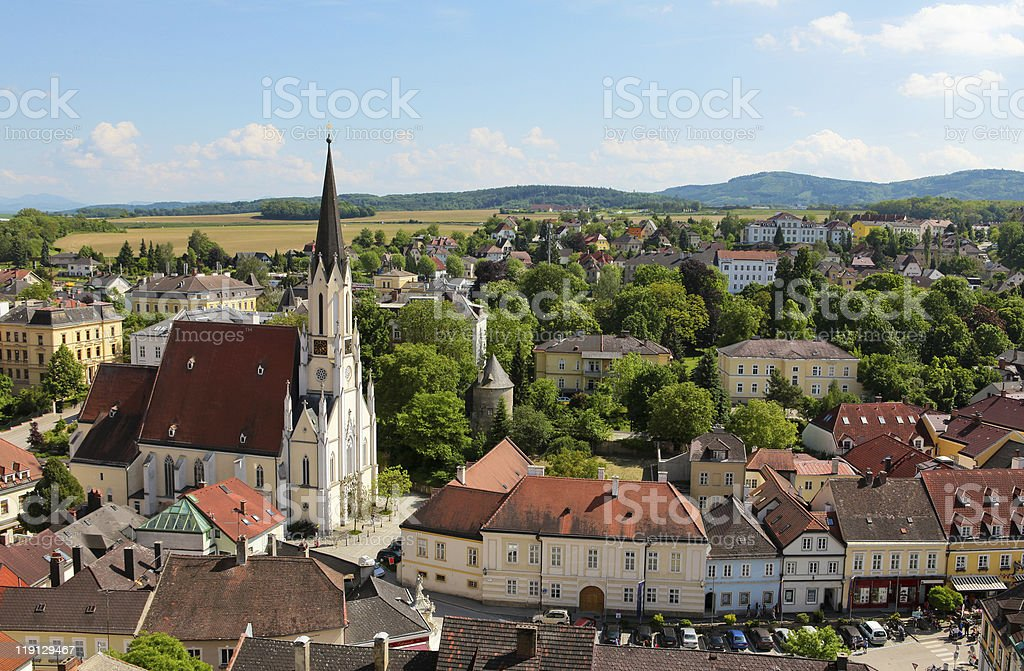 Melk in Lower Austria royalty-free stock photo