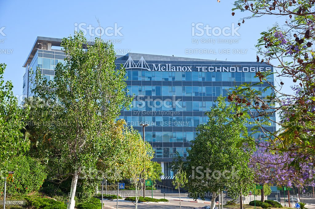 Mellanox Technologies office building headquartered in Yokneam