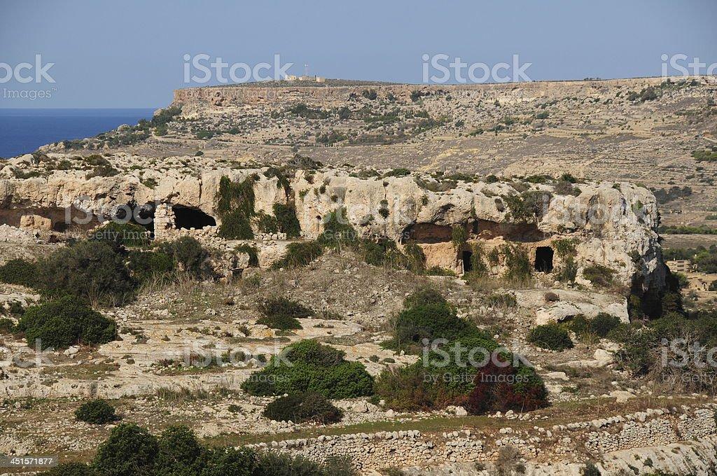 Mellieha, Maltese Islands. royalty-free stock photo