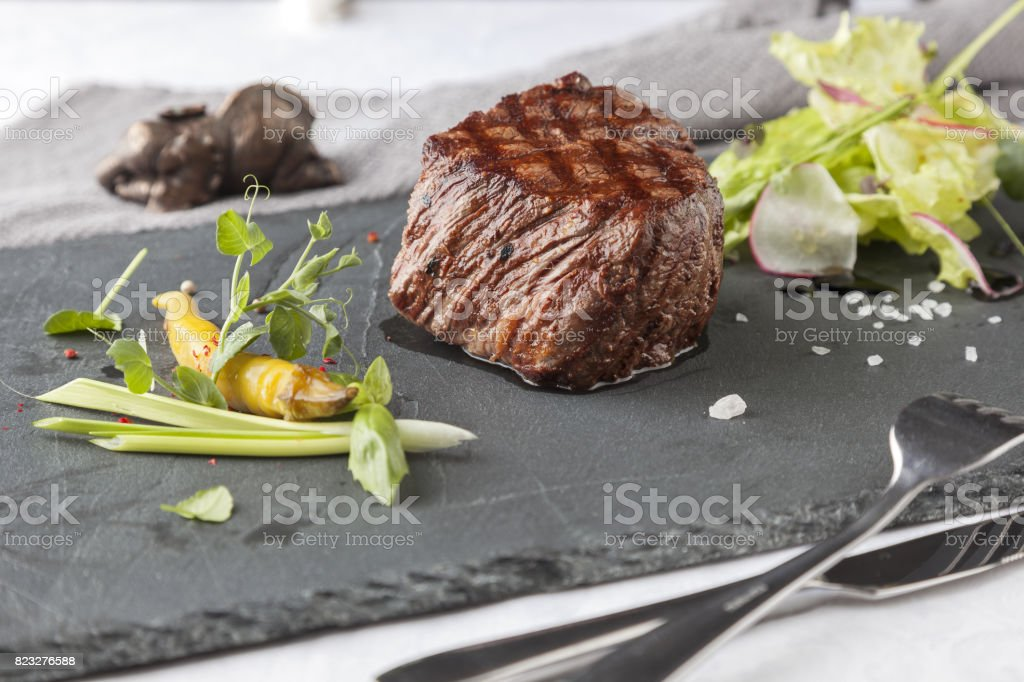 Mellow Chateaubriand stock photo