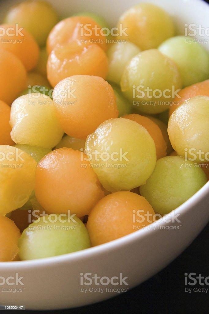 Melon Balls royalty-free stock photo