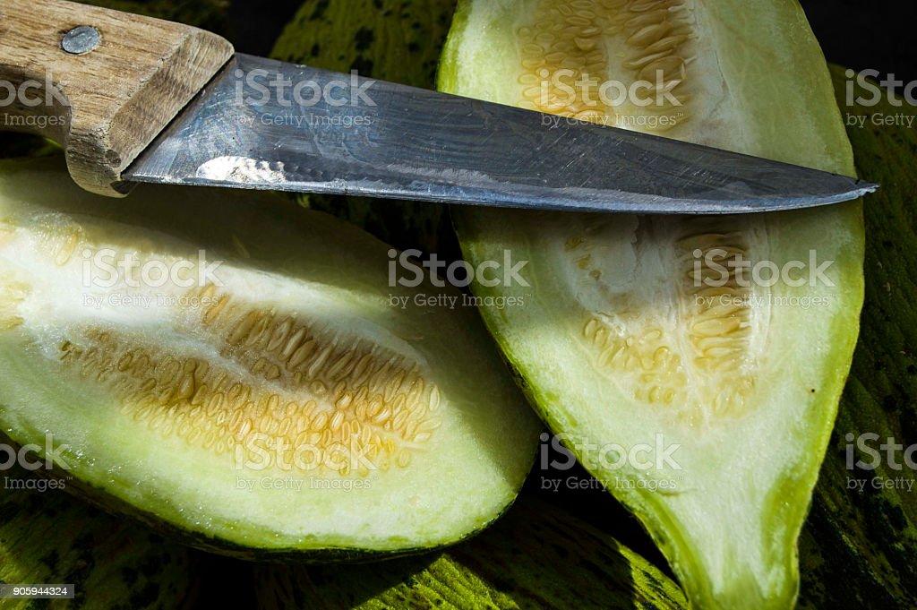 pérdida de peso de la dieta del melón