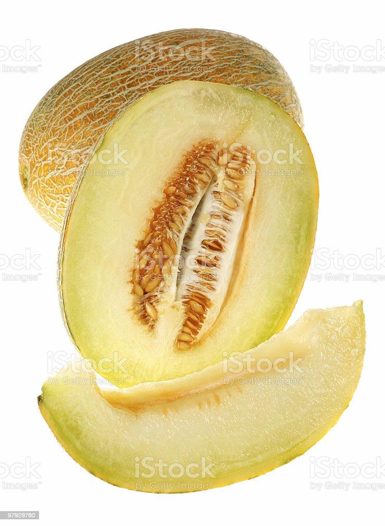 Melon fruit royalty-free stock photo