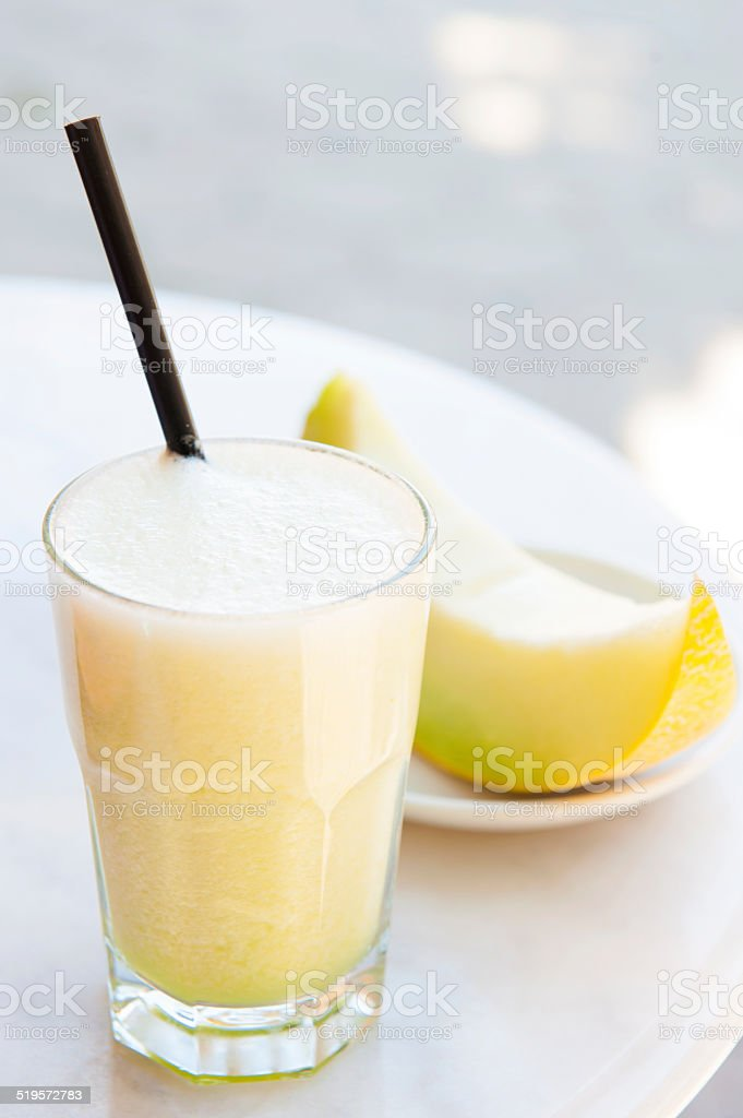 Melon Juice stock photo