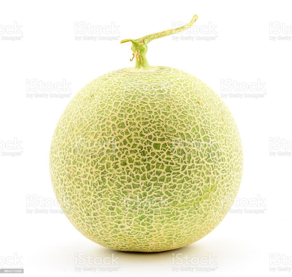 Melon on white background. royalty-free stock photo