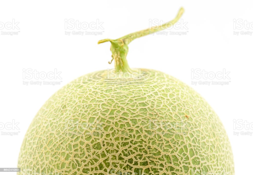 Melon on white background. royalty-free stock photo