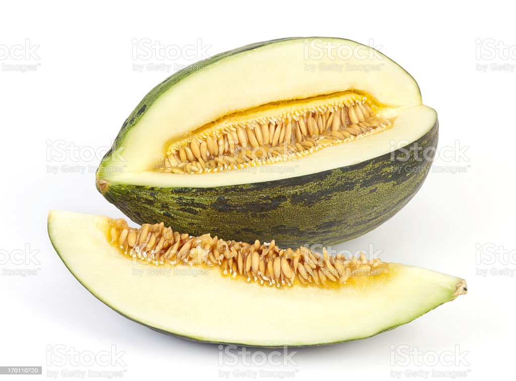 Melon Piel de Sapo stock photo