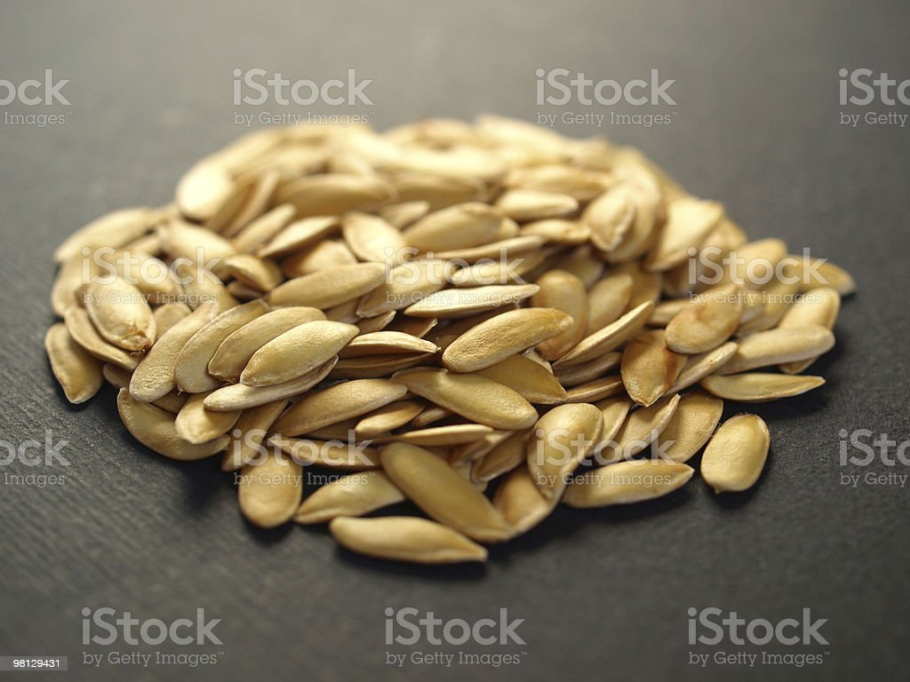Melon seeds royalty-free stock photo
