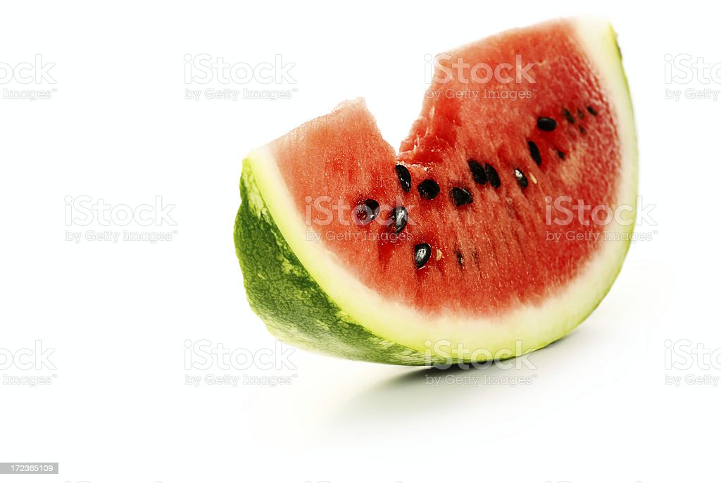 Melon slice royalty-free stock photo
