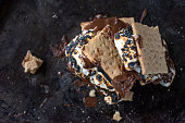 istock melted messy s'mores stack with toasted marshmallows 1157827413