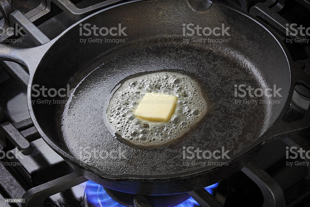 Melting Butter - Royalty-free Boter Stockfoto