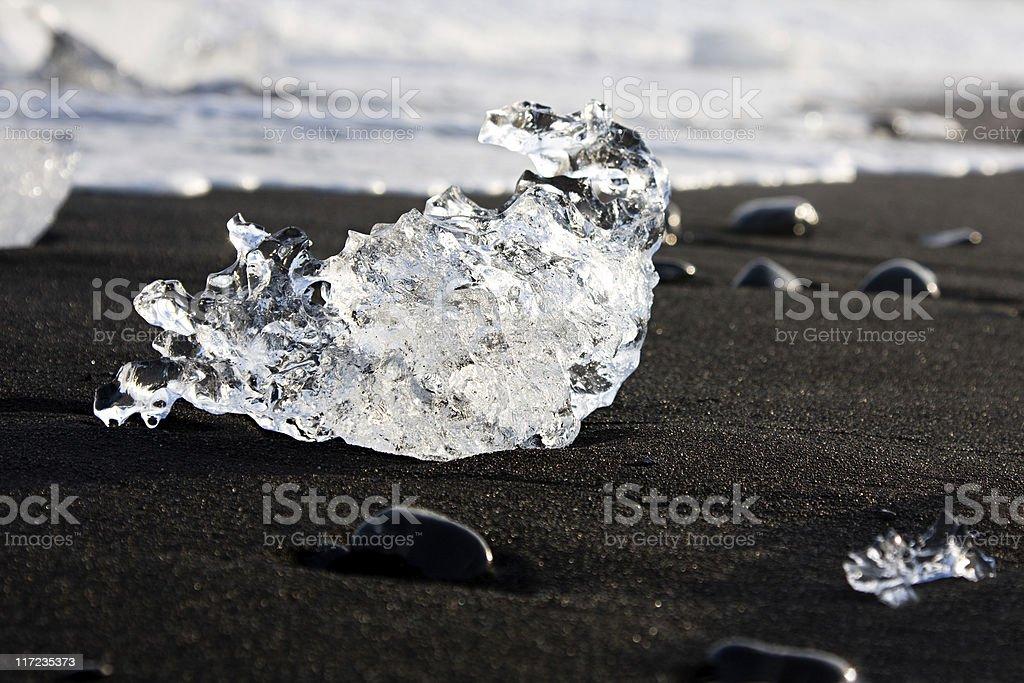 Melting Glacier Ice royalty-free stock photo
