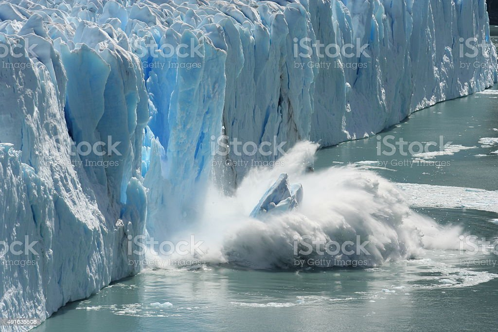Melting Glacier in a Global Warming Environment - Royalty-free 2015 Stock Photo