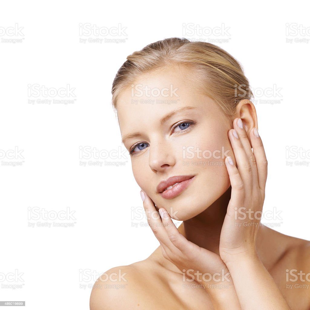 Melting hearts with her alluring beauty - Royalty-free 20-24 Years Stock Photo