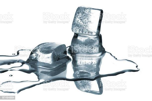 Photo of Melting ice cubes