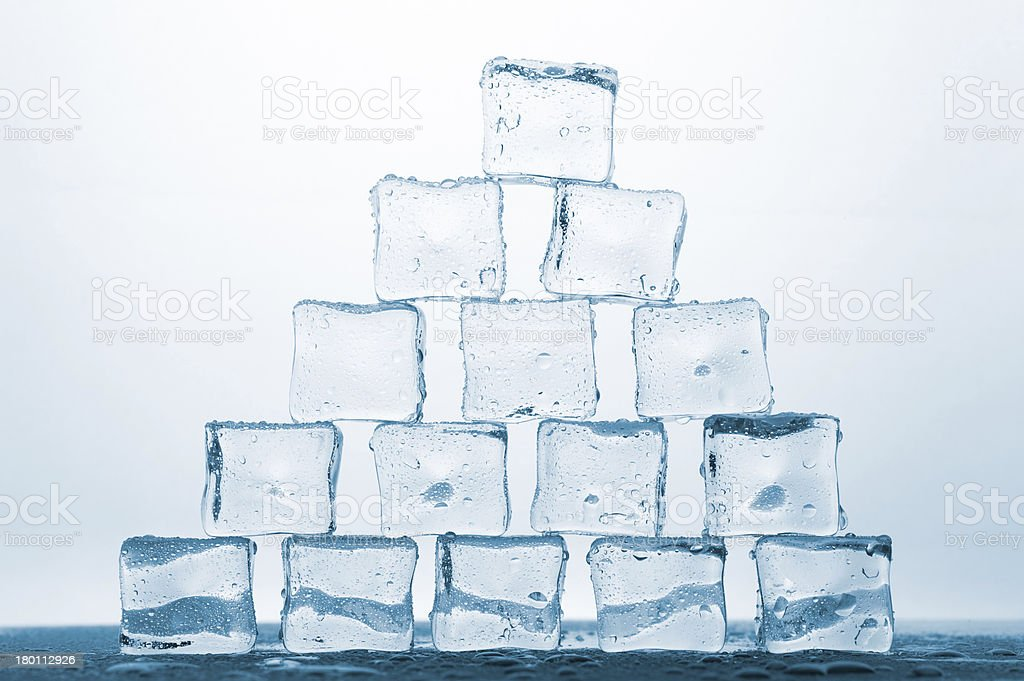 melting ice royalty-free stock photo