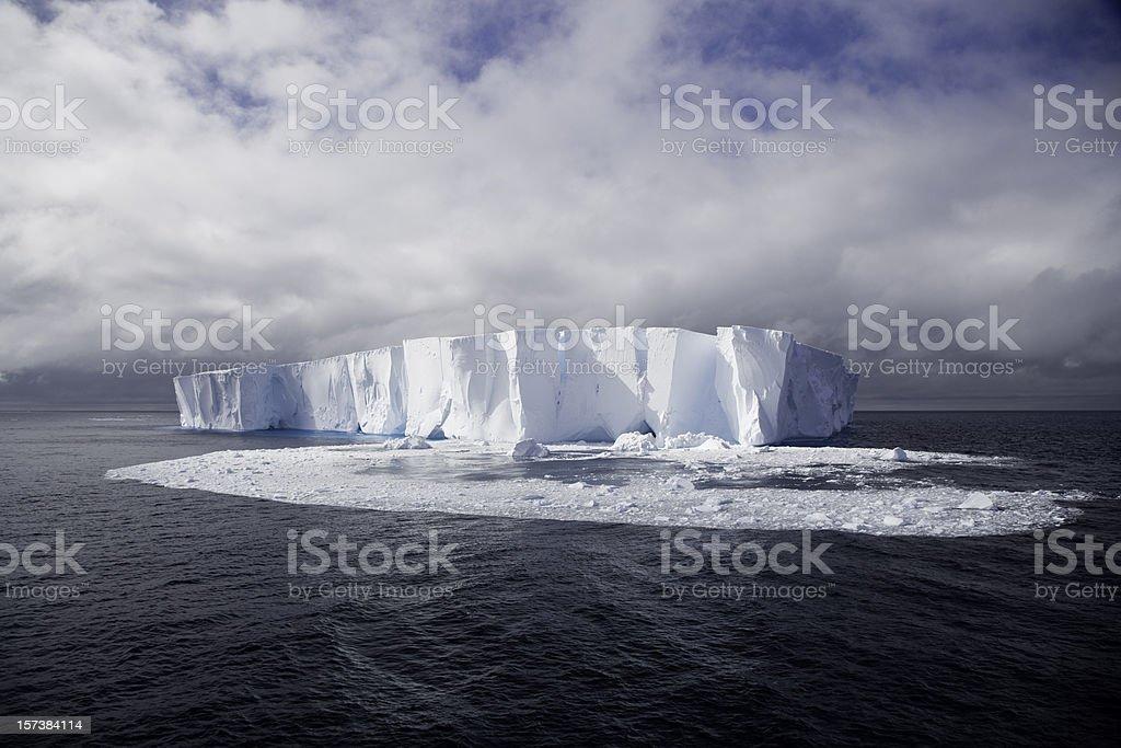 Melting Iceberg Antarctica Global Warming royalty-free stock photo