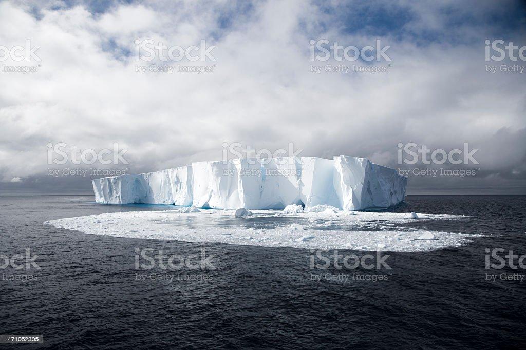 Melting Iceberg / Global Warming royalty-free stock photo