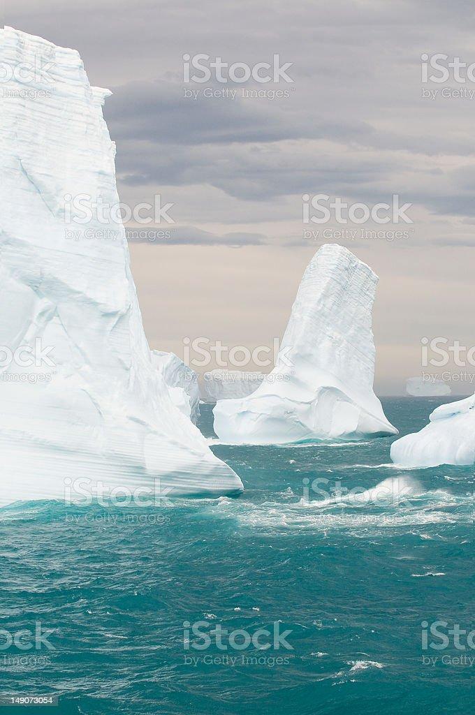 Melting Icebergs stock photo