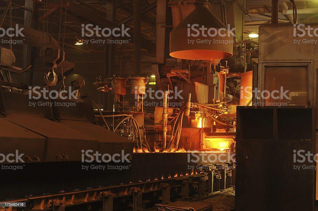 Melting plant stock photo