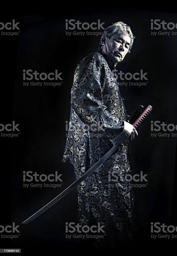 melting pot swordsman royalty-free stock photo