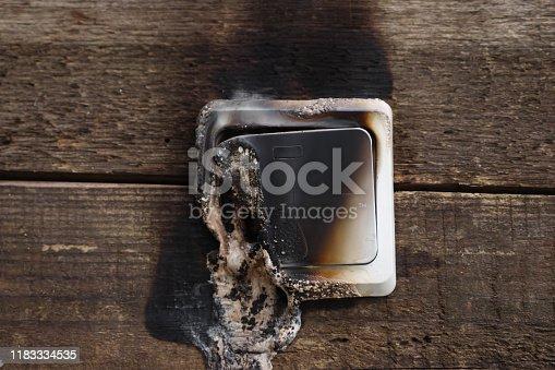 1015604978 istock photo melting switch close-up. 1183334535