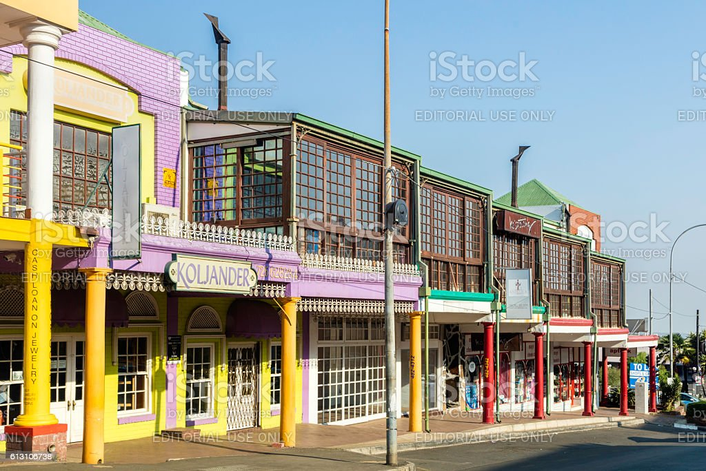 Melville suburb of Johannesburg streetview stock photo