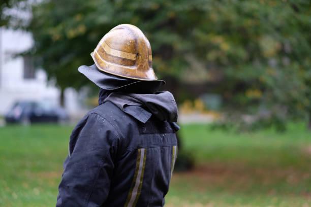 Mitglied des Feuerwehrteams – Foto