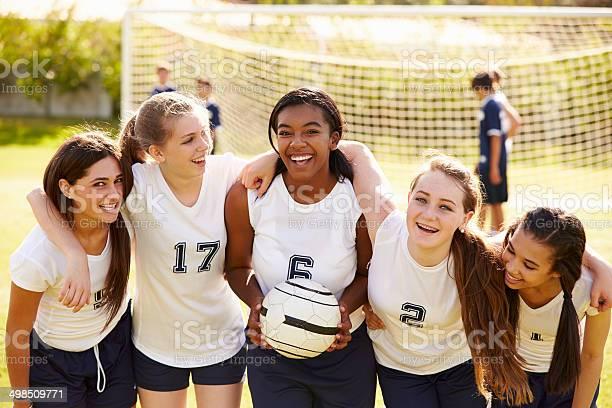 Members of female high school soccer team picture id498509771?b=1&k=6&m=498509771&s=612x612&h=hy5mf4vdaofkspy21eivedoeauwg 2mwaimcuvgf ti=