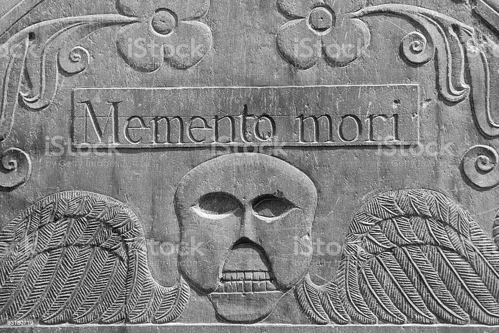 Memento Mori royalty-free stock photo