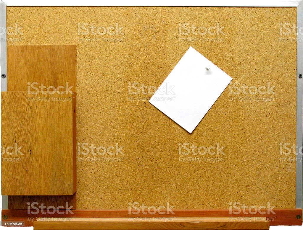Memo Board stock photo