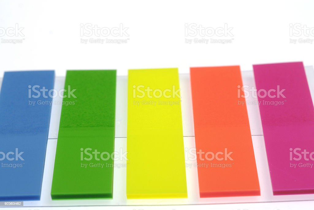 memo papers royalty-free stock photo