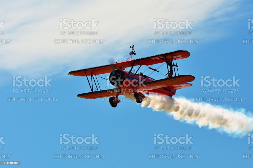 Memorial Airshow, Roudnice, Czech Republic stock photo