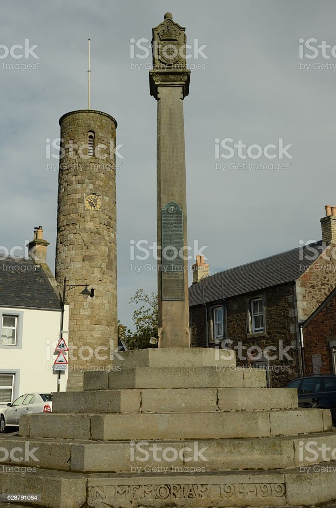 Memorial and Tower stock photo
