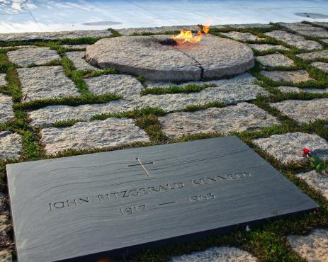 John F Kennedy Memorial at Arlington National Cemetery