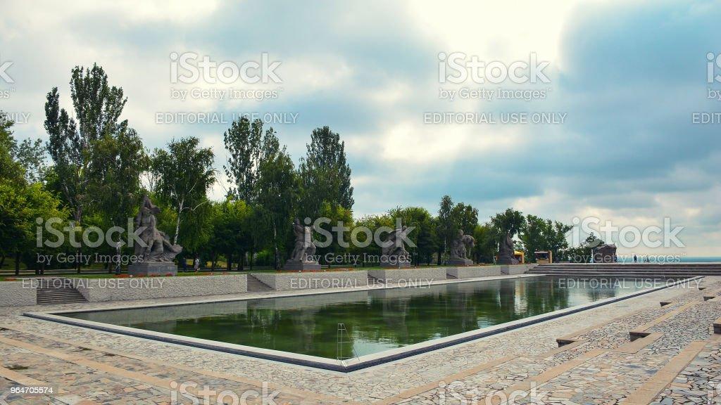 Memorial complex Mamayev Kurgan royalty-free stock photo