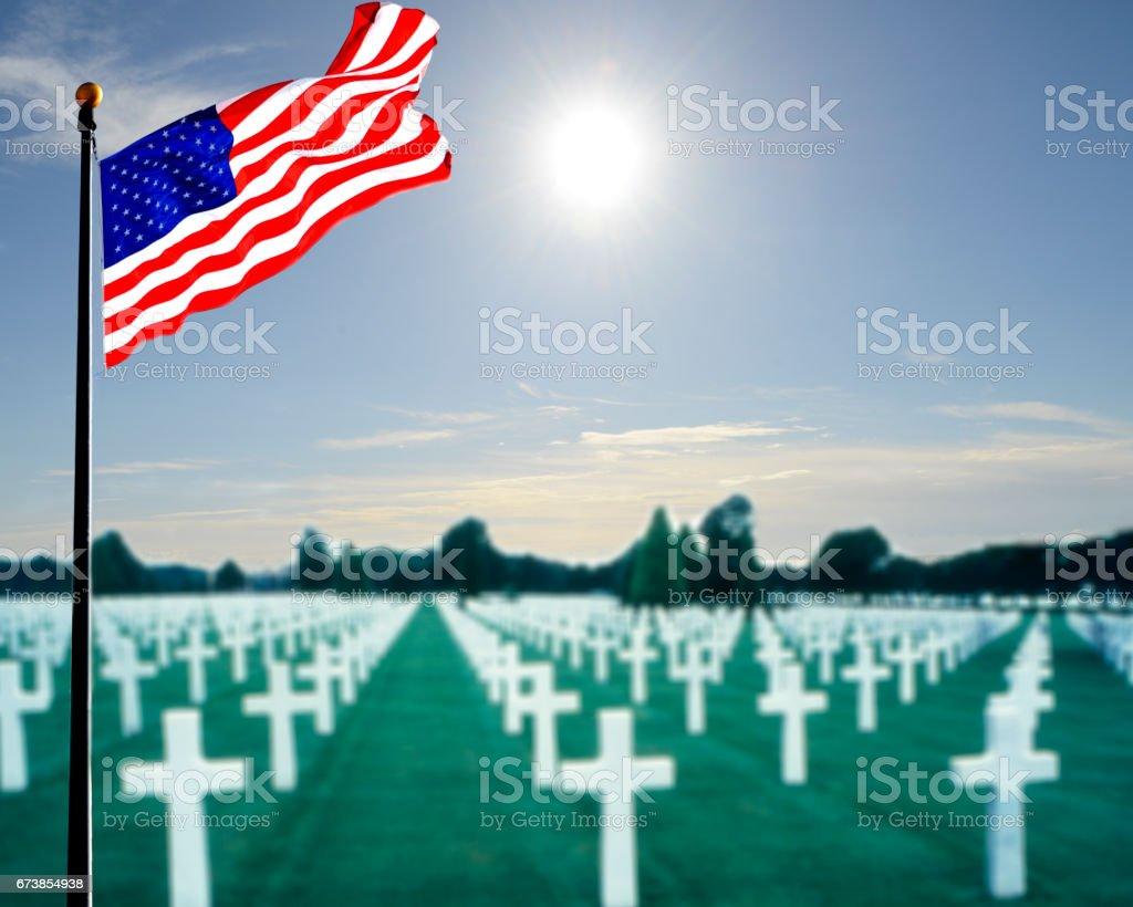 Memorial Day celebration stock photo