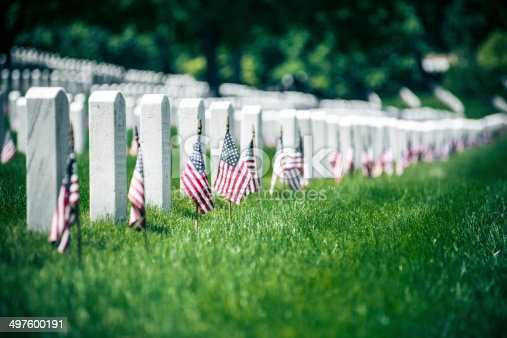 Memorial Day in Arlington National Cementery, Washington DC. USA.