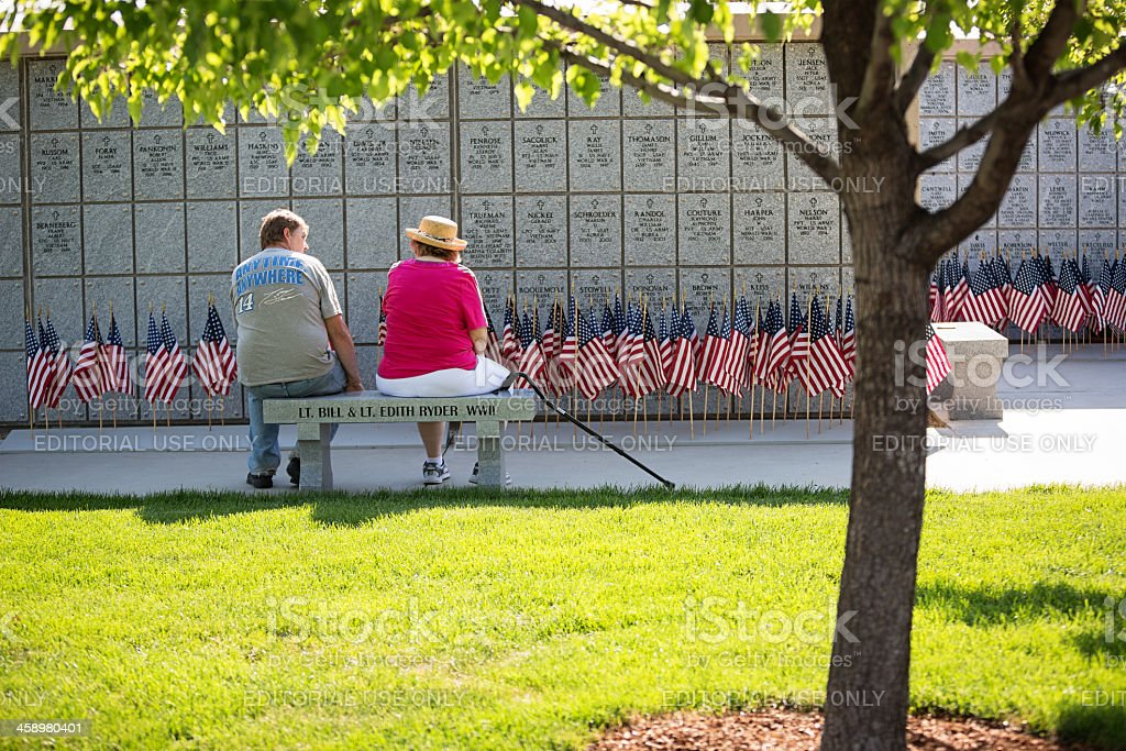 Memorial Day royalty-free stock photo