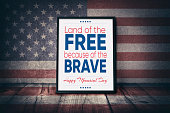Happy Memorial Day - Land of the Free because of the Brave
