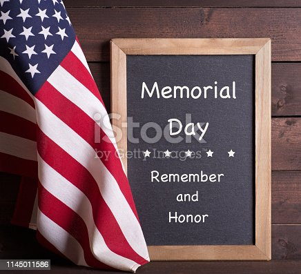 971061452istockphoto Memorial Day Remember and Honor Sign 1145011586