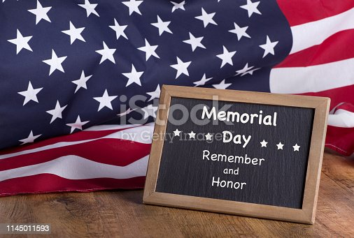 971061452istockphoto Memorial Day Remember and Honor Sign 1145011593