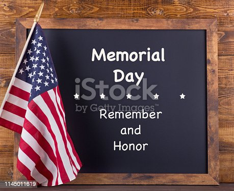 971061452istockphoto Memorial Day Remember and Honor Sign 1145011619