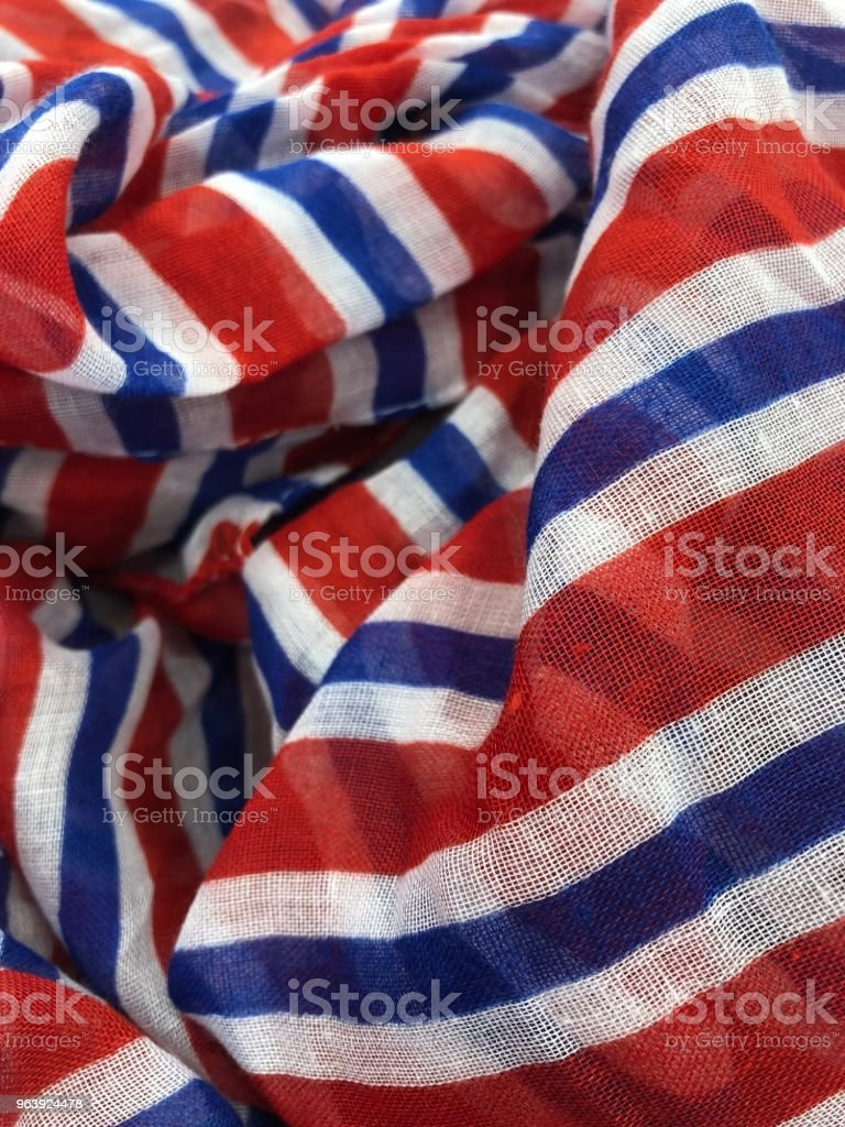 Memorial Day Scarf - Royalty-free American Culture Stock Photo