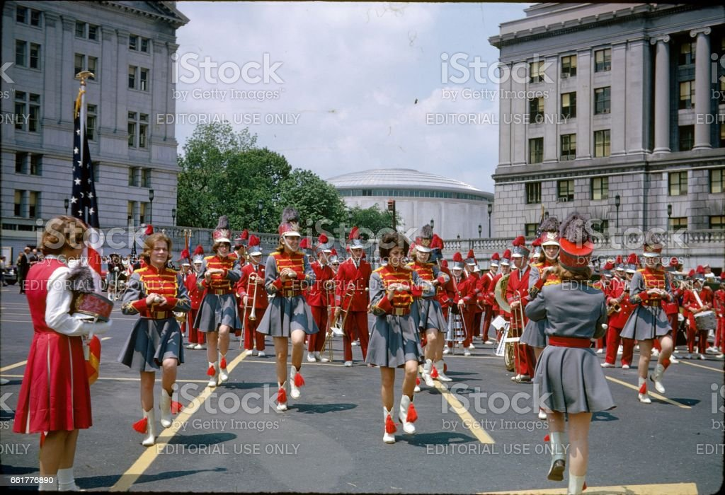 Memorial Day, Washington DC, 1964 stock photo
