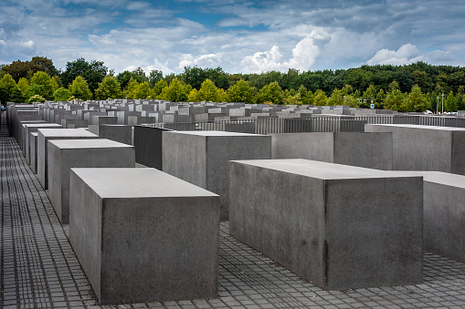 Memorial for the murdered Jews of Europe in Berlin, Germany