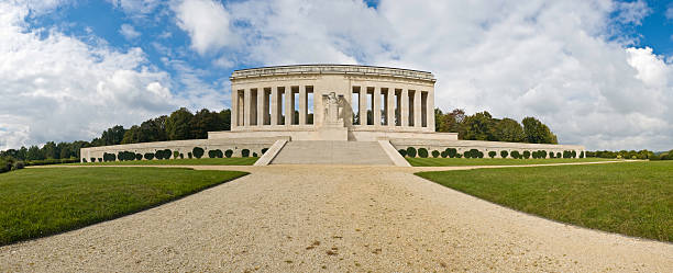 WWI US Memorial France  aisne stock pictures, royalty-free photos & images