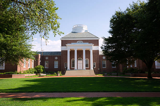 Memorial Hall at the University of Delaware in Newark stock photo