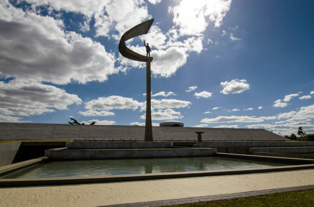 JK Memorial in Brasilia stock photo